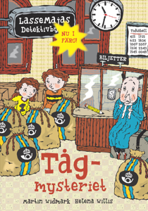 Tågmysteriet Cover Book