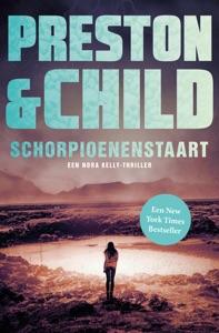 Schorpioenenstaart Door Preston & Child Boekomslag
