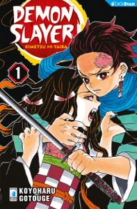 Demon Slayer - Kimetsu no yaiba 1 Copertina del libro