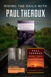 Riding the Rails with Paul Theroux book