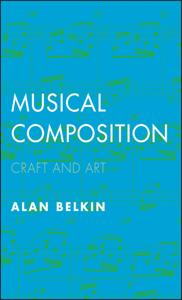 Musical Composition Copertina del libro