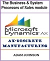 The Business  System Processes Of Sales Module For AX-Discrete Manufacturing
