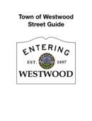 Westwood Street Guide