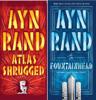 Ayn Rand - Ayn Rand Novel Collection 2 Box Set: Atlas Shrugged, The Fountainhead bild
