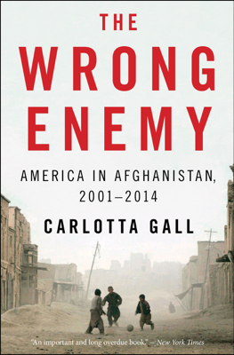 The Wrong Enemy - Carlotta Gall book