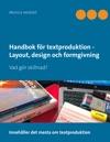 Handbok Fr Textproduktion - Layout Design Och Formgivning