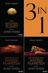 Der Wüstenplanet Band 1-3: Der Wüstenplanet / Der Herr des Wüstenplaneten / Die Kinder des Wüstenplaneten (3in1-Bundle)