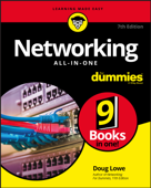 Networking All-in-One For Dummies Book Cover