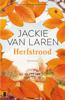 Jackie van Laren - Herfstrood kunstwerk