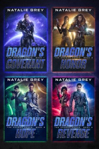 The Dragon Corps Books 1-4 Book Cover