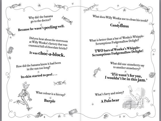 Roald Dahls Marvellous Joke Book