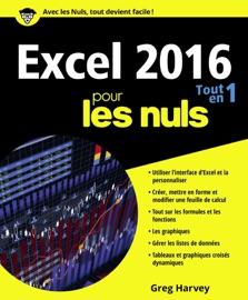 Excel 2016 Tout en un pour les Nuls - Greg Harvey