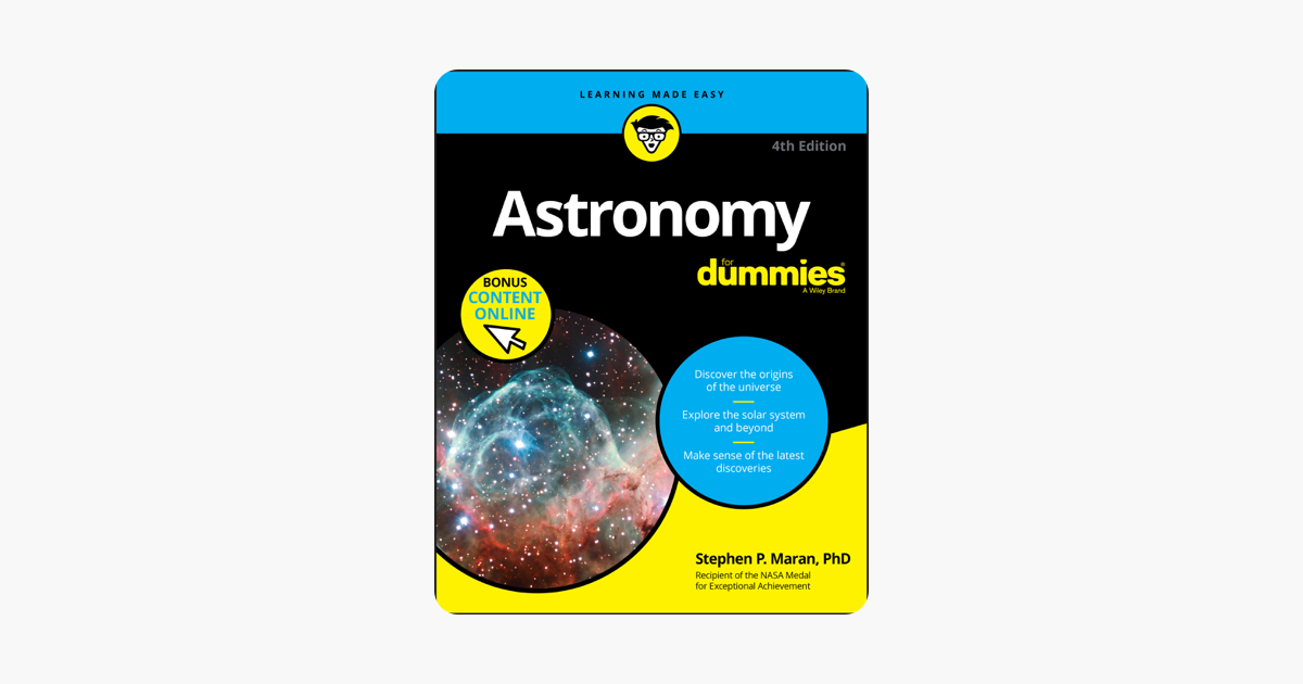 Astronomy For Dummies - Stephen P. Maran