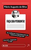 Faça sua pergunta! Flávio Augusto da Silva Book Cover