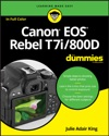 Canon EOS Rebel T7i800D For Dummies