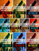 Don Pendleton The Executioner Series Collection 10 Book set: War Against the Mafia, Death Squad, Battle Mask, Miami Massacre, Continental Contract, Assault on Soho, Nightmare in New York, Chicago Wipeout,Vegas Vendetta, Caribbean Kill.