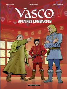 Vasco - tome 29 - Affaires lombardes La couverture du livre martien