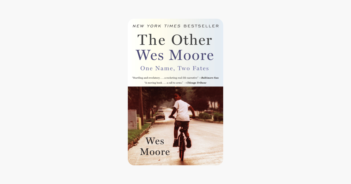 The Other Wes Moore - Wes Moore