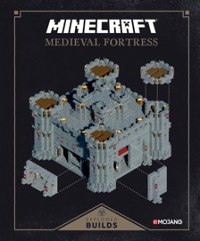 Minecraft Exploded Builds Medieval Fortress
