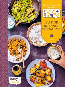 Cuisine indienne végétarienne La couverture du livre martien