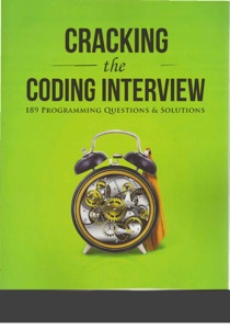 Cracking the Coding Interview: 189 Programming Questions and Solutions 6th Edition Book Cover