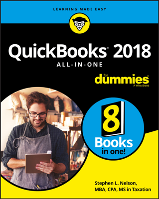 QuickBooks 2018 All-in-One For Dummies - Stephen L. Nelson book