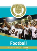 2018 NFHS Football Rules Book