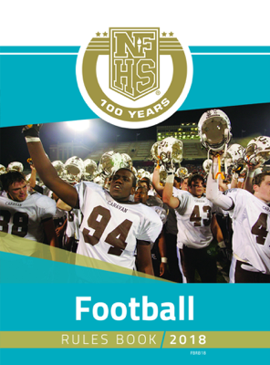 2018 NFHS Football Rules Book - NFHS book