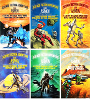 The Complete Isaac Asimov Lucky Starr series.