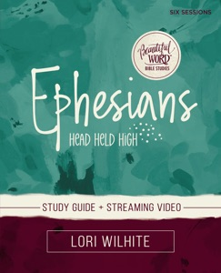 Ephesians Study Guide plus Streaming Video Book Cover