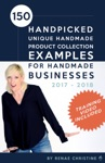 150 Handpicked Unique Handmade Product Collection Examples For Handmade Businesses 2017 - 2018 Fuel Etsy Selling Success And The Handmade Entrepreneur