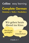 Easy Learning German Complete Grammar Verbs And Vocabulary 3 Books In 1