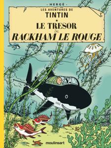 Le Trésor de Rackham le Rouge La couverture du livre martien