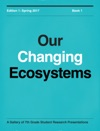 Our Changing Ecosystems - Book 1