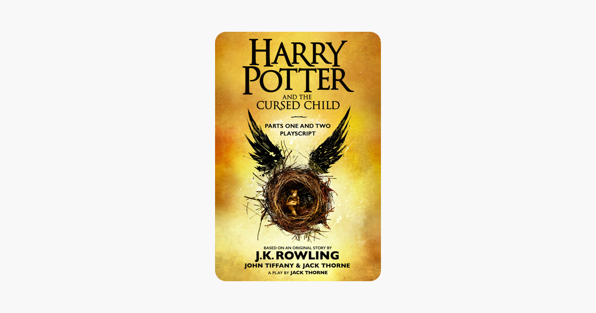 Harry Potter And The Cursed Child Parts One And Two border=