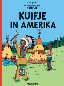 Kuifje in Amerika Boekomslag