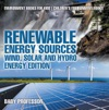 Renewable Energy Sources - Wind Solar And Hydro Energy Edition  Environment Books For Kids  Childrens Environment Books