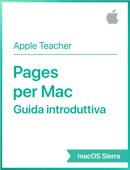 Pages per Mac Guida introduttiva macOS Sierra