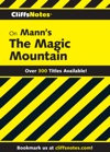 CliffsNotes On Manns The Magic Mountain