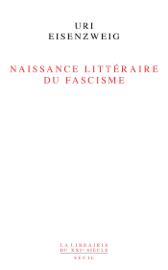 Naissance littéraire du fascisme