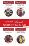 Harlequin Presents August 2017 - Box Set 1 Of 2