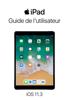 Apple Inc. - Guide de l'utilisateur de l'iPad pour iOS 11.3 Grafik