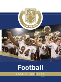 2018 NFHS Football Case Book book