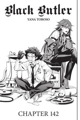 Black Butler, Chapter 142 - Yana Toboso book