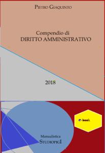 Compendio di DIRITTO AMMINISTRATIVO Libro Cover