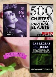 SE ME VA + 500 CHISTES PARA PARTIRSE EL AJETE + LAS REGLAS DEL JUEGO. DE 3 EN 3