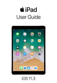 iPad User Guide for iOS 11.3 book