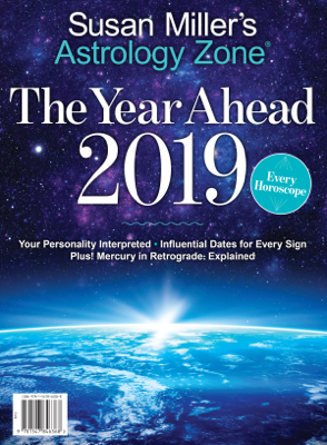 Astrology Zone The Year Ahead 2019 - Susan Miller book