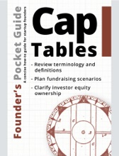 Founder's Pocket Guide: Cap Tables