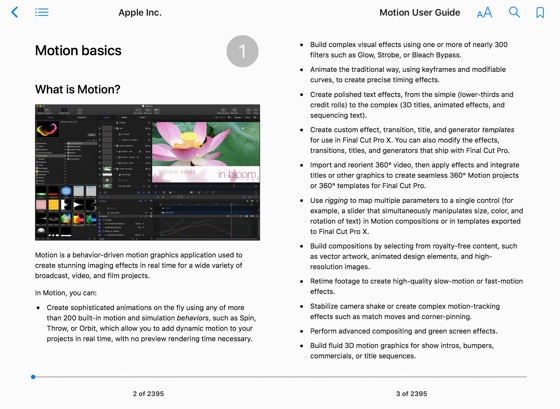 Motion User Guide on Apple Books
